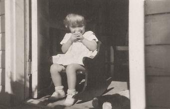 Porch kid