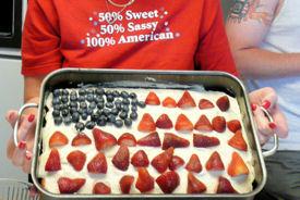 Cake July 4