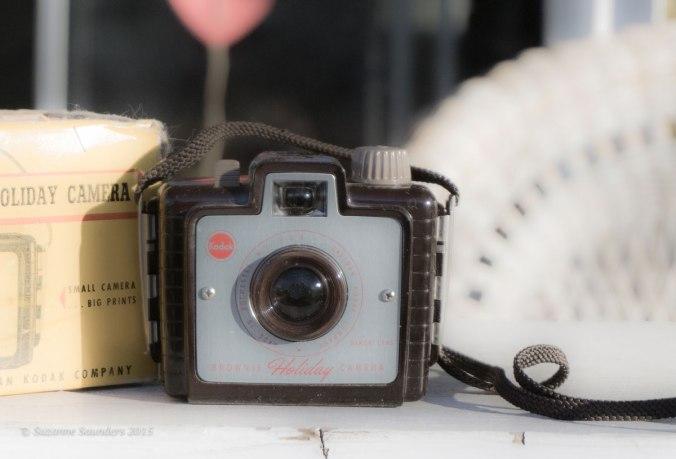Kodak Brownie Holiday camera and box